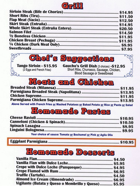 Texas De Brazil Prices