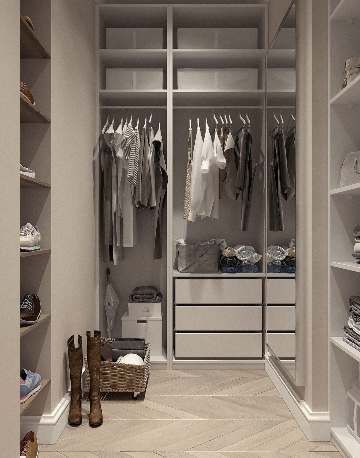Organizers Can Be An Effective Clothes Storage Solution