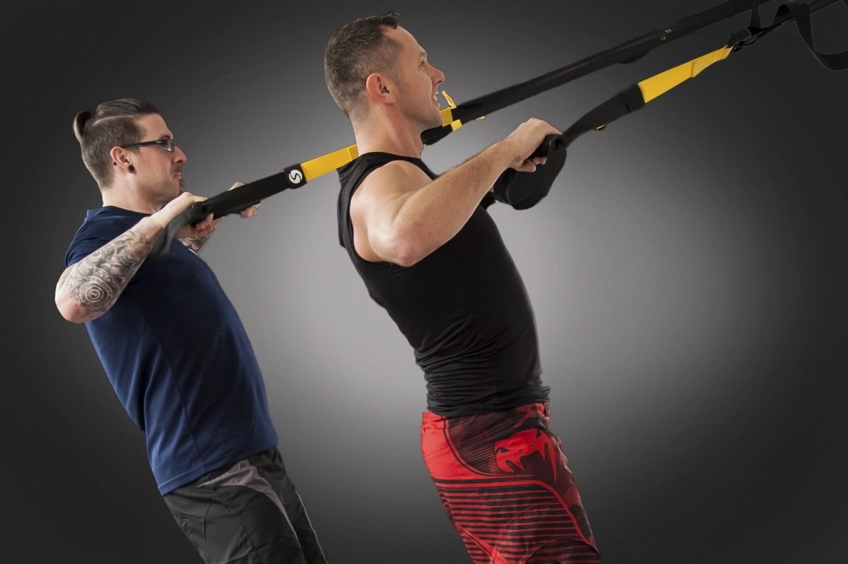 Stretching With The TrX Stretches Gear